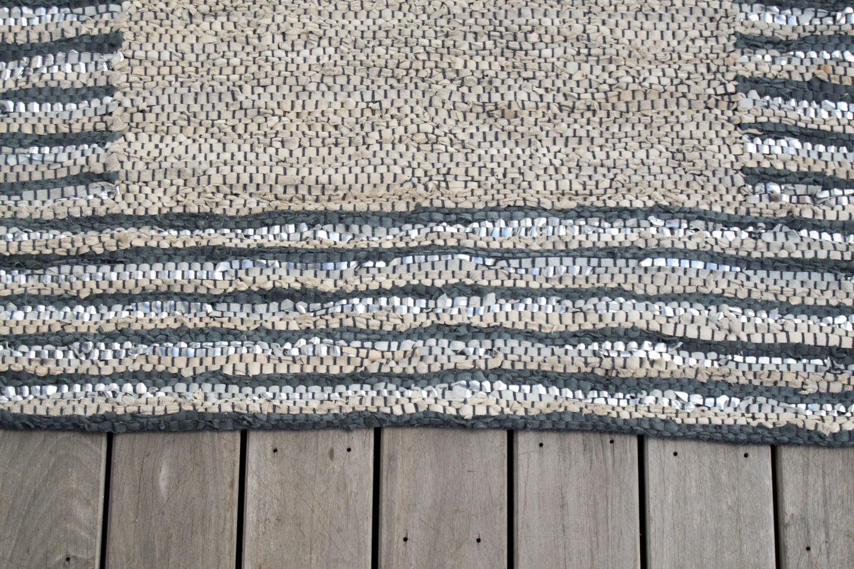 boutique la maison les accessoires coussins plaids et tapis tapis cuir nor. Black Bedroom Furniture Sets. Home Design Ideas