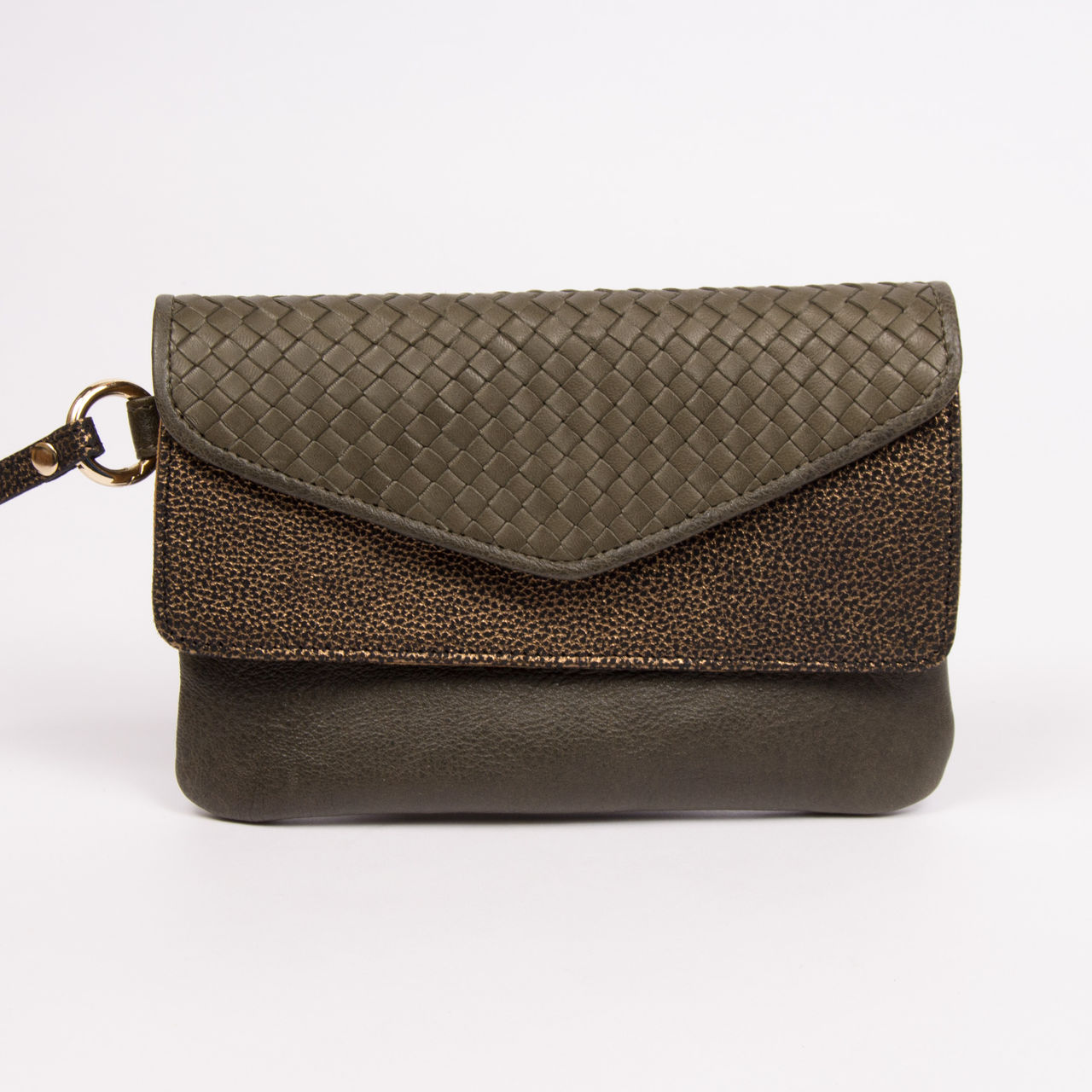 boutique la femme bagagerie petite maroquinerie pochette craie maxi pocket. Black Bedroom Furniture Sets. Home Design Ideas