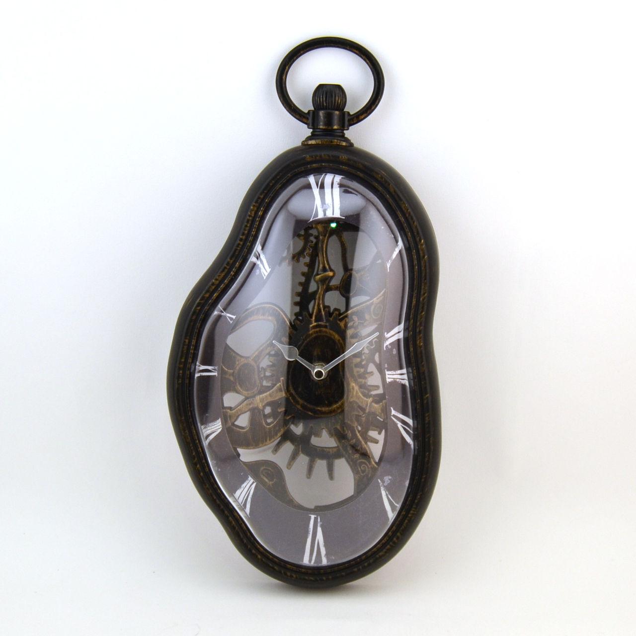 boutique la maison les accessoires horloges r veil horloge murale dali vintage. Black Bedroom Furniture Sets. Home Design Ideas