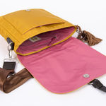 Sac Bensimon Mat & Shine Line - Shoulder Bag Jaune foncé (photo 4)