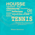 Housse Chaussures Bensimon - Turquoise (photo 2)