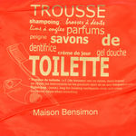 Housse Toilette Bensimon - Rouge