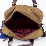 Sac Bensimon Authentic Line - Duffle bag Camel/Marron (photo 3)