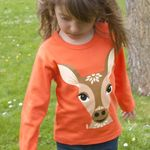 Tee shirt manches longues Mibo - Biche (photo 3/4)