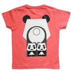 Tee shirt manches courtes Mibo - Panda (photo 3/4)