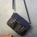 Sac Craie Mini Maths - Cuir Bubble noir (photo 7/8)