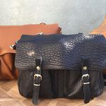 Sac Craie Mini Maths - Cuir Bubble noir