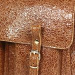 Sac Craie Maxi Maths - Cuir Crack Caramel (photo 2/5)