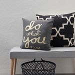 Coussin Do what you love 55x55 (photo 2/2)
