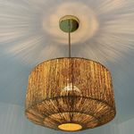 Lampe suspension - Jute (photo 3/4)