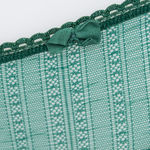Culotte Momoni dentelle grid verde (photo 3)