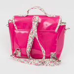 Cartable Not so big - Petit modèle fushia liberty (photo 3)