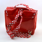 Cartable not so big pois rouge (photo 2)