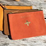 Trousse Isabelle Varin - Moly Cuir Velour Medium