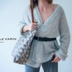 Sac Isabelle Varin - Cabas Laner Reptile White (photo 5)