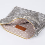 Pochette Isabelle Varin - Luna Crackle Or (photo 3/5)