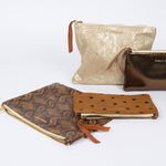 Pochette Isabelle Varin - Luna Crackle Or (photo 2/5)