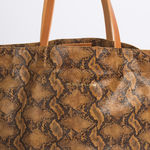Sac Isabelle Varin - Cabas Laner Reptile Coconut (photo 2)