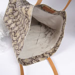 Sac Isabelle Varin - Cabas Laner Reptile White (photo 3)