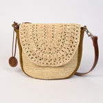 Sac Estellon - Bluck Raphia  Naturel