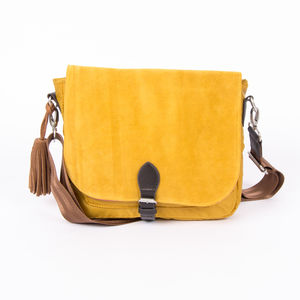 Sac Bensimon Mat & Shine Line - Shoulder Bag Jaune foncé (photo 1/4)