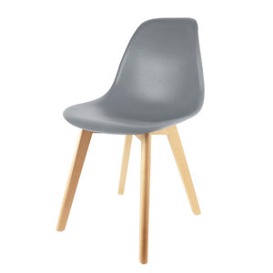 Chaise Scandinave - Gris (photo 1/4)
