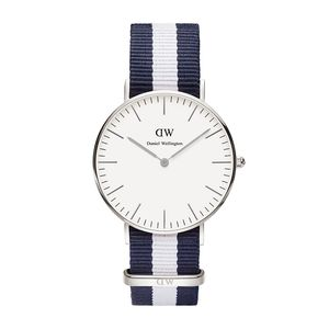 Montre Daniel Wellington - 36mm Glasgow argent (photo 1/4)