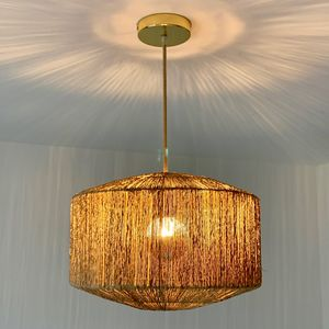 Lampe suspension - Jute (photo 1/4)
