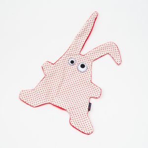 Doudou Toumou - Rabbit pois rouges / blanc (photo 1/1)