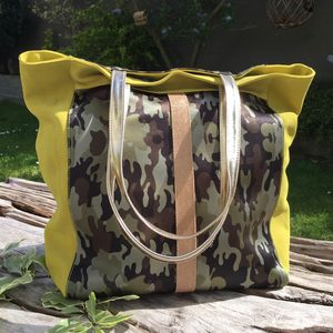 Sac Catherine Parra - Cabas Blondy Camouflage (photo 1/5)