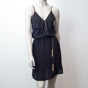 Robe Jolie Jolie -  Domitille black & gold (photo 1/3)