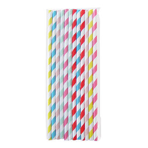 Pailles multicolores - Set de 24 (photo 1/1)