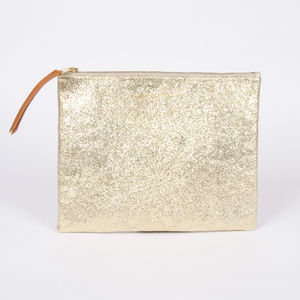 Pochette Isabelle Varin - Luna Crackle Or (photo 1/5)