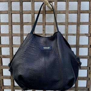Sac Estellon - Loulou Camou Noir (photo 1/3)