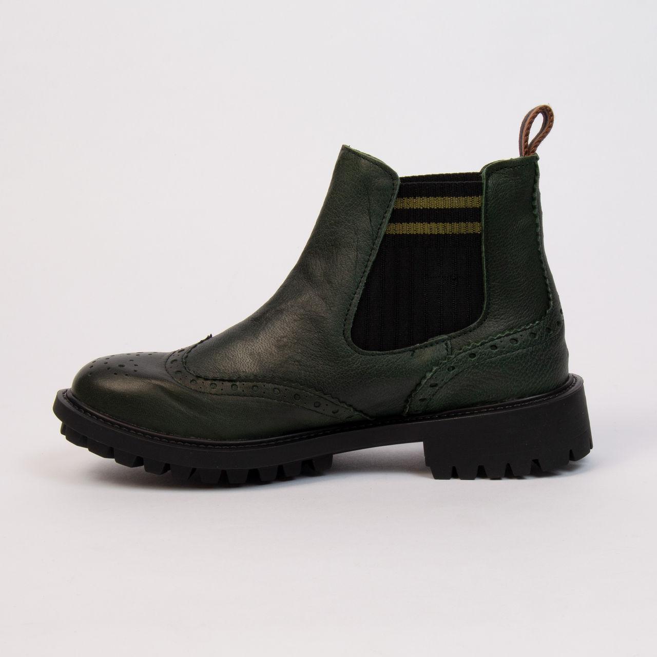 la moitié dd74c a81bf La Femme › Chaussures › Catherine Parra › Bottes Catherine Parra -  Stanislas Vert Bouteille | Boutique cdvshop.com