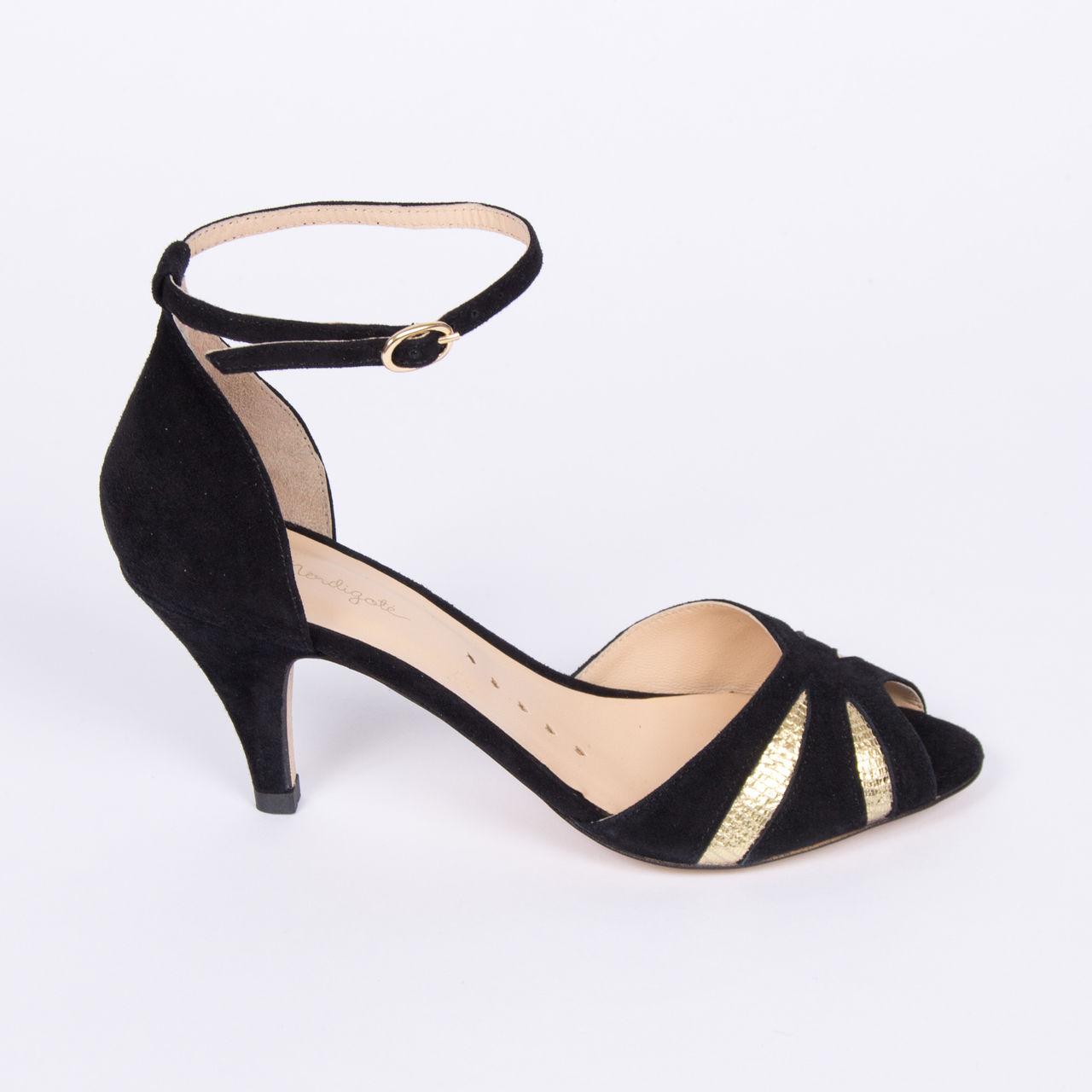 › Chaussures Sandale Femme Mendigote Petite NoirpromoBoutique La Barbade doBCWrxe
