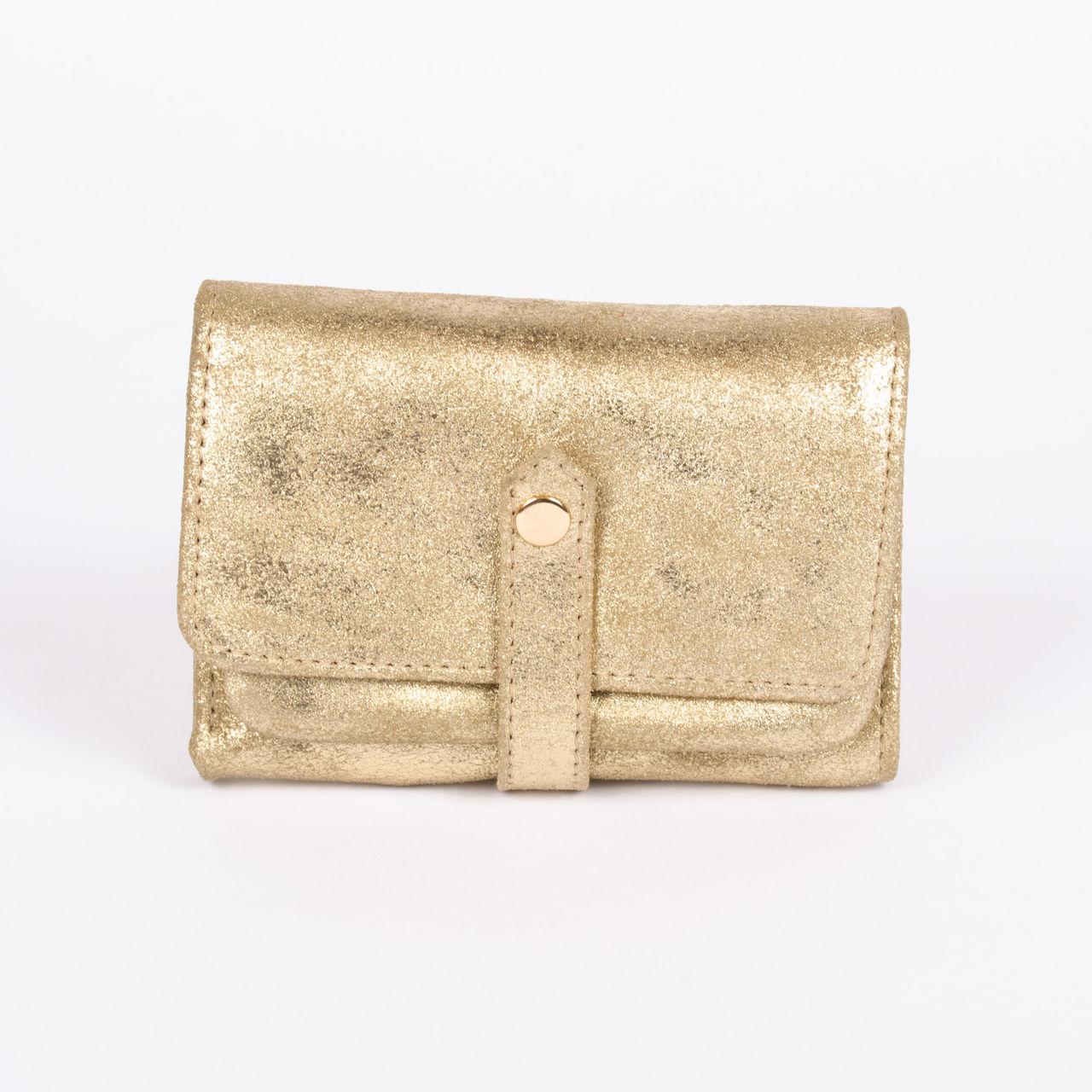 info pour 05917 8c91a La Femme › Bagagerie › Petite Maroquinerie › Porte-monnaie /cartes Petite  Mendigote - Cosmos Foil Gold | Boutique cdvshop.com
