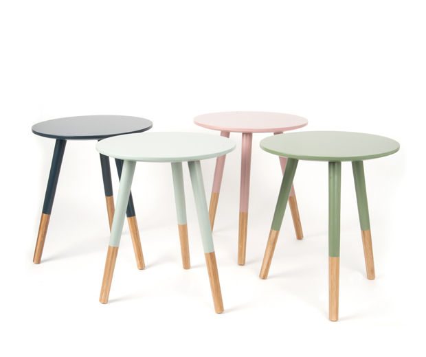 Boutique la maison mobilier tables for Table basse scandinave vert d eau