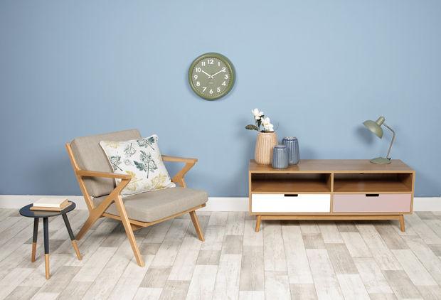 boutique la maison luminaires lampes de table lampe hood kaki. Black Bedroom Furniture Sets. Home Design Ideas