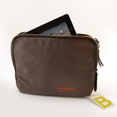 Web bag Bensimon taupe (photo 1/5)