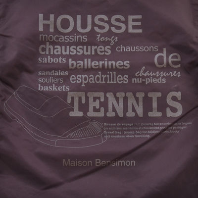 Housse Chaussures Bensimon -