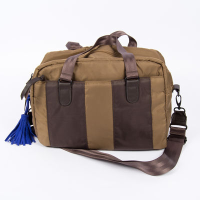 Sac Bensimon Authentic Line - Duffle bag Camel/Marron