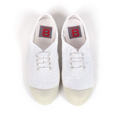 Tennis Bensimon Lacet - Broderie blanche