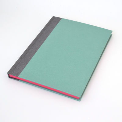 Cahier Clynk 25x18 - Embossé turquoise (photo 1/2)