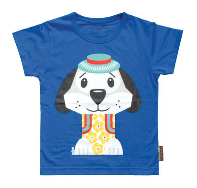 Tee shirt manches courtes Chien Mibo
