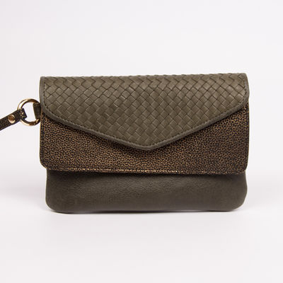 Pochette Craie - Maxi Pocket Kaki (photo 1/4)