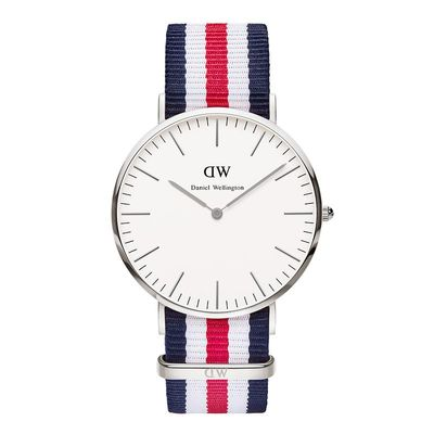 Montre Daniel Wellington - 40mm Canterbury argent