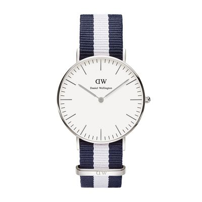 Montre Daniel Wellington - 36mm Glasgow argent