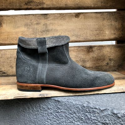 La Botte Gardiane - Boots Claudie Star Anthracite inversé (photo 1/7)