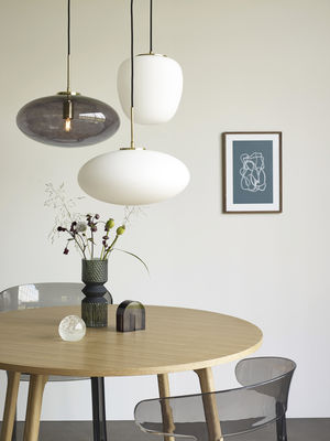 Lampe suspension Glass Ovale (photo 1/4)